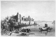 1850s Prints - INDIA: ALLAHABAD, 1850s Print by Granger