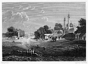 William Street Framed Prints - INDIA: DELHI, 19th CENTURY Framed Print by Granger