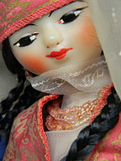 Doll Photos - India doll by Anita V Bauer