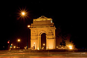 Entrance Memorial Photography Posters - India Gate Poster by © Deepak Bhatia