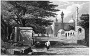 Raj Framed Prints - INDIA: KHULDABAD, c1860 Framed Print by Granger