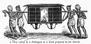 Thug Framed Prints - India: Palanquin, 1849 Framed Print by Granger