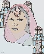 India Royalty Print by Belinda Threeths