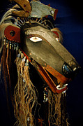 Smithsonian Museum Framed Prints - Indian Animal Mask Framed Print by LeeAnn McLaneGoetz McLaneGoetzStudioLLCcom