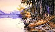 Reproduction - Indian Camp Lake McDonald