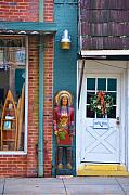 Store Fronts Framed Prints - Indian Chief Framed Print by Jan Amiss Photography