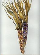 Elizabeth H Tudor - Indian corn