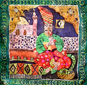 India Tapestries - Textiles - Indian Dream by Sandra Kern