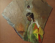 Betty Pimm Art - Indian Girl  by Betty Pimm