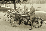 Padre Art Photos - Indian Motorcycle Relay Team 1918 by Padre Art
