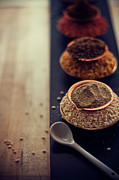 Healthy Eating Metal Prints - Indian Spice Metal Print by Shovonakar