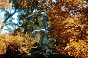 Fairmount Park Prints - Indian Summer along the Wissahickon Print by Bill Cannon