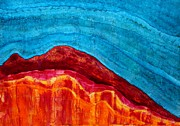 Mountaintop Paintings - Indian Summer original painting by Sol Luckman