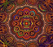 Mandala Digital Art - Indian Summer by Robert Orinski