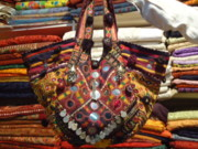 India Tapestries - Textiles - Indian Tribal Bags by Dinesh Rathi