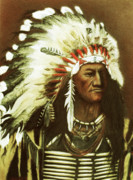 Martin Howard - Indian with headdress