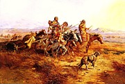Reproduction - Indian Women Moving