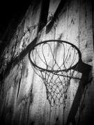 Basketball Art - Indiana Hoop by Michael L Kimble