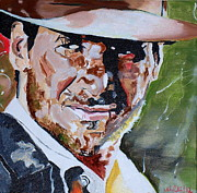 Raiders Paintings - Indiana Jones by Martin Putsey