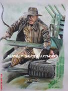Dr. J Originals - Indiana Jones by Sandeep Kumar Sahota