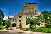 College Campus Photos - Indiana Memorial Union I by Steven Ainsworth