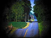 Rural Indiana Photo Prints - Indiana Road Print by Joyce  Kimble Smith