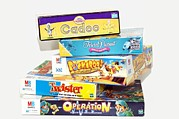 Board Game Photo Prints - Indoor Games Print by Johnny Greig