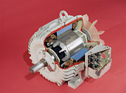 Alternating Current Photos - Induction Motor by Andrew Lambert Photography