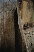Abstracted Photo Prints - Industrial Light Print by Odd Jeppesen