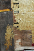 Apartment Mixed Media - Industrial Patina Abstract by Anahi DeCanio