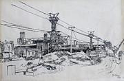 Industrial Site Print by Ylli Haruni