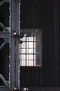 Industrial Urban Window Print by adSpice Studios