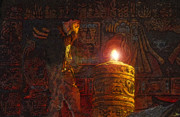 Ark Digital Art Prints - Indys Golden Idol Print by David Lee Thompson