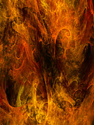 Inferno Print by Niels Walther