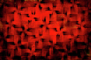 Abstract Digital Art - Inferno by Silvia Ganora