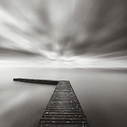 Jetty Framed Prints - Infinite Vision Framed Print by Doug Chinnery