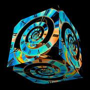 Steve Purnell - Infinity Time Cube on Black