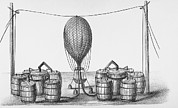 Inflation Prints - Inflating Balloon Print by Science, Industry & Business Librarynew York Public Library