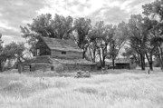 Fine Photography Art Photo Originals - Infrared Barn by James Steele
