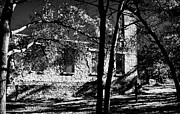 Fray Prints - Infrared Salado College Ruins Print by Linda Phelps