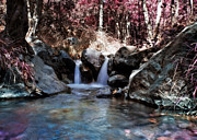 Interesting Photos - Infrared Waterfall by Stylianos Kleanthous