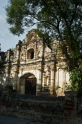Church Ruins Photos - Inglesia San Jose De Viejo 4 by Douglas Barnett