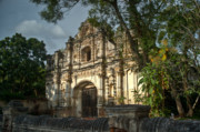 Church Ruins Photos - Inglesia San Jose De Viejo 6 by Douglas Barnett
