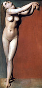 1819 Photos - Ingres: Angelique, 1819 by Granger