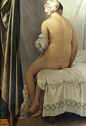 Fine Art  Of Women Paintings - Ingres: Bather, 1808 by Granger