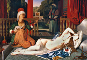 Hookah Prints - Ingres: Odalisque Print by Granger