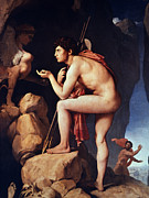 Ingres Paintings - Ingres: Oedipus by Granger