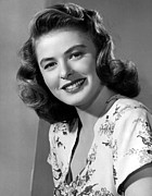 G.a.-2 Prints - Ingrid Bergman, 1945 Print by Everett