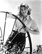 Ingrid Framed Prints - Ingrid Bergman, C. 1939 Framed Print by Everett