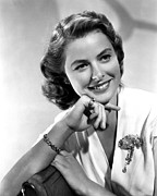 Ingrid Framed Prints - Ingrid Bergman, Portrait Framed Print by Everett